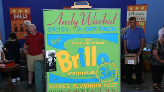 Signed 1970 Andy Warhol Poster | Antiques Roadshow | PBS