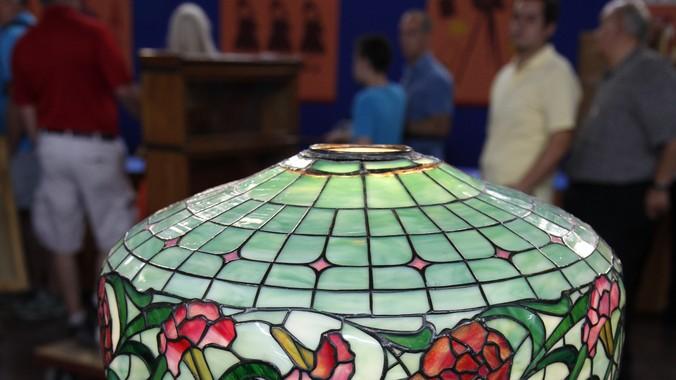 20th Century Fake Tiffany Lamp