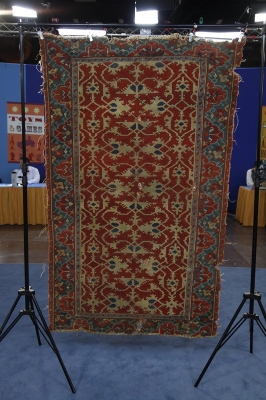 Quot Lotto Quot Oushak Rug Ca 1570 Antiques Roadshow Pbs