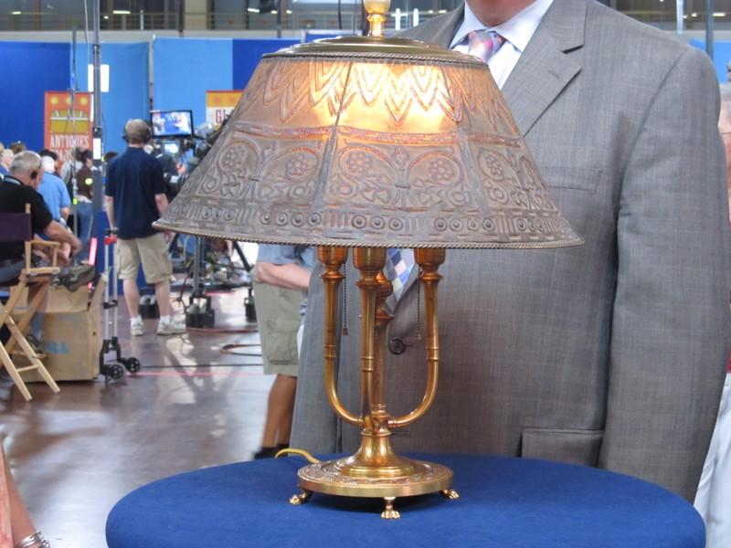 Louis c tiffany furnaces inc lamp