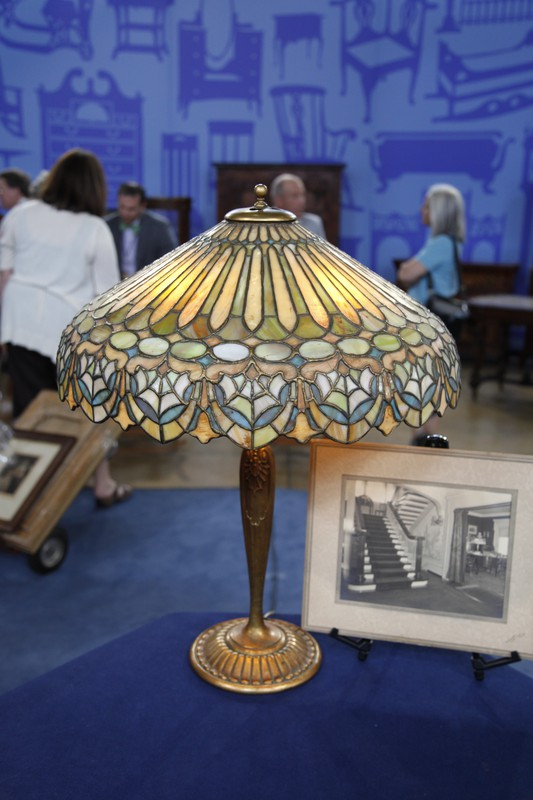 Duffner U0026 Kimberly Leaded Glass Table Lamp | Antiques Roadshow | PBS