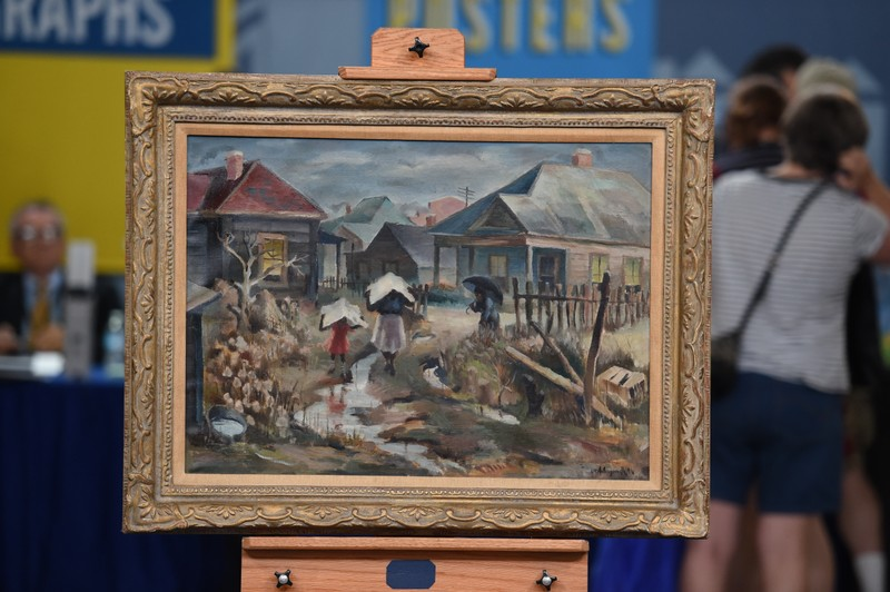 1940 William R. Hollingsworth, Jr. Oil Painting | Antiques ...
