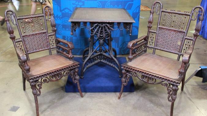 Read Appraisal Transcript - Wakefield Rattan Company Furniture, Ca. 1875 Antiques Roadshow PBS