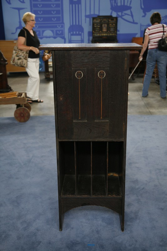 Ellis Stickley Music Cabinet, Ca. 1903 | Antiques Roadshow | PBS