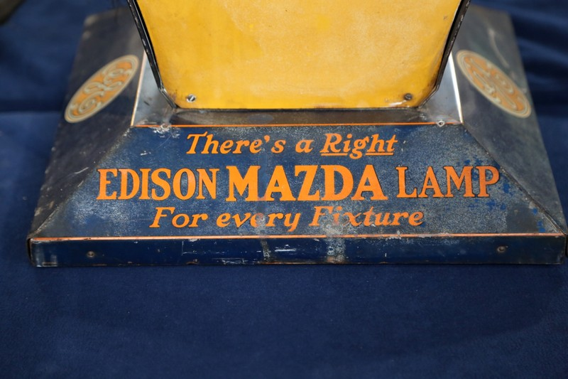Mazda Green Bay >> Edison Mazda Light Bulb Store Display, ca. 1930 | Antiques Roadshow | PBS