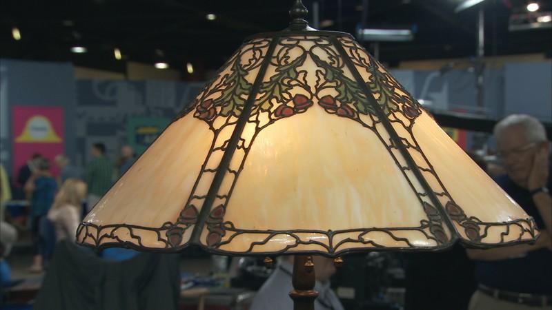 Handel Acorn Pattern Lamp Ca 1915 Antiques Roadshow Pbs
