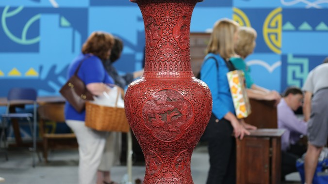 Chinese Cinnabar Lacquer Vase Ca 1825 Antiques Roadshow Pbs