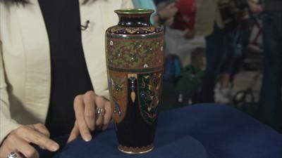 japanese cloisonne vase value