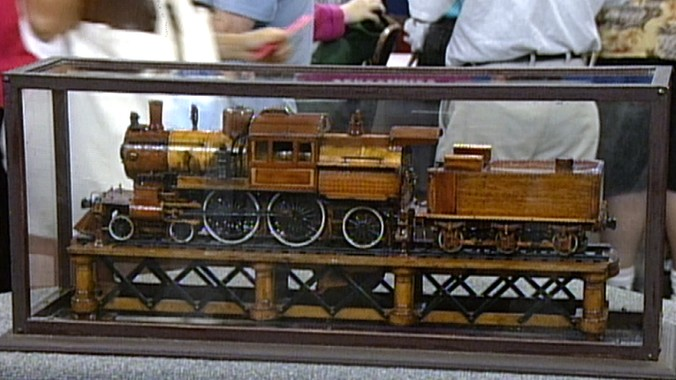 """Model """"Camelback"""" Steam Engine 
