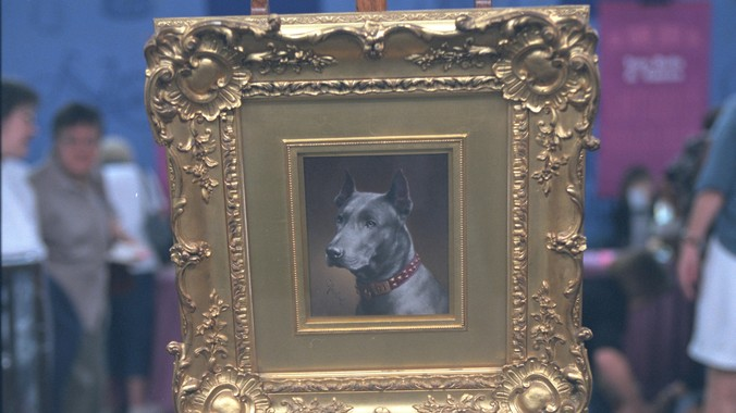 Buy Here Pay Here Indianapolis >> Carl Reichert Dog Portrait, ca. 1900 | Antiques Roadshow | PBS