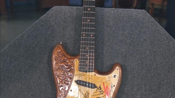 Autographed Electric Guitar | Antiques Roadshow | PBS