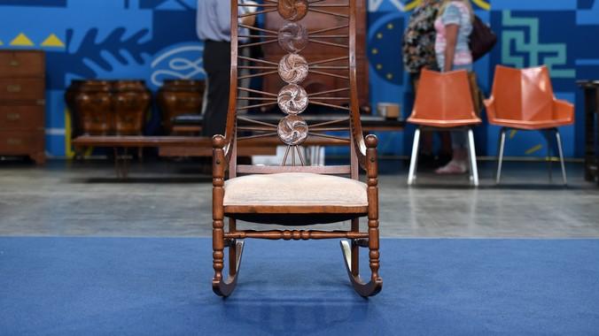 Read Appraisal Transcript - American Oak Rocking Chair, Ca. 1890 Antiques Roadshow PBS
