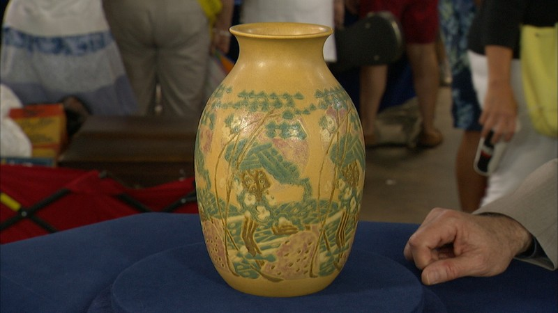 Overbeck Vase Ca 1920 Antiques Roadshow Pbs