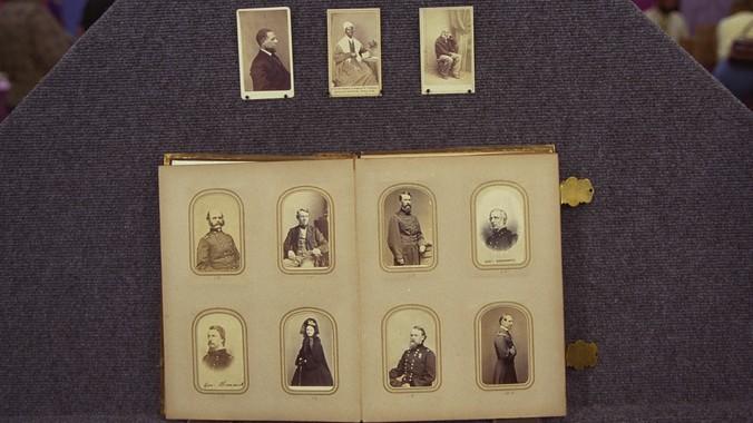 Carte De Visite Album Ca 1865