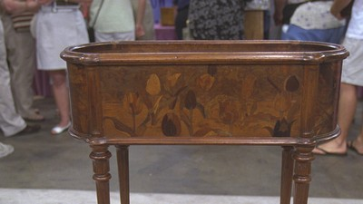Emile Gallé Planter, ca. 1890 - Appraisals Antiques Roadshow PBS