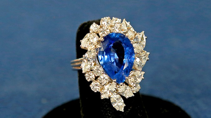 Sapphire And Diamond Ring Auction