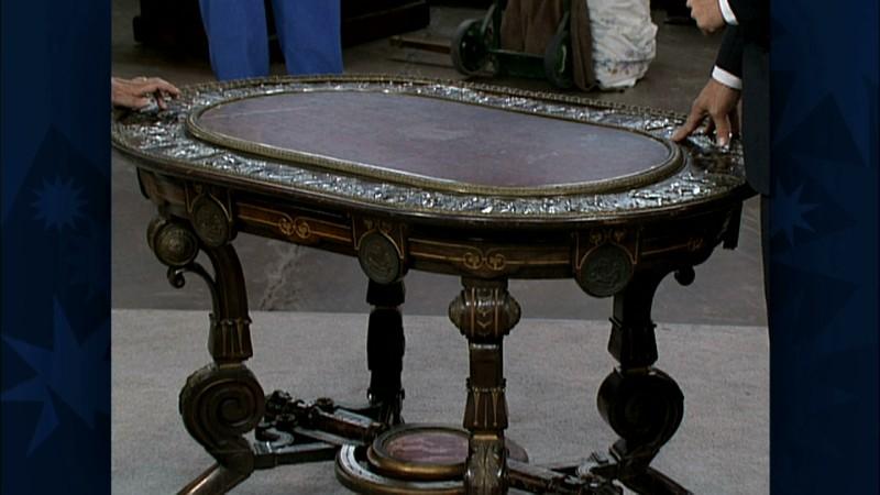 Pottier & Stymus Furniture ca 1870 Antiques Roadshow