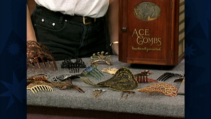 Hair Comb Collection Amp Box Antiques Roadshow Pbs