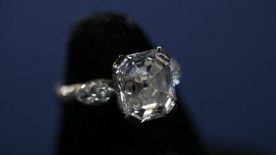 Fancy Intense Yellow Diamond Ring Antiques Roadshow