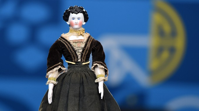 German Fancy Hair China Doll Ca 1880 Antiques Roadshow