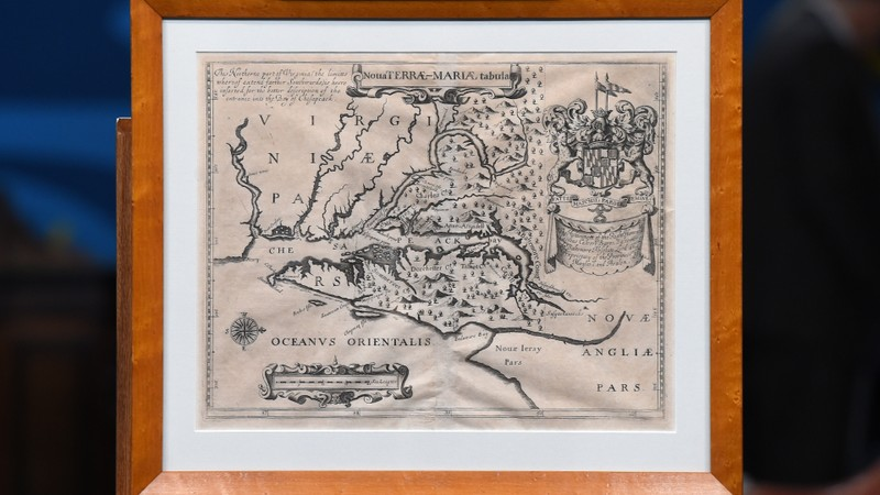 1671 lord baltimore maryland map antiques roadshow pbs gumiabroncs Choice Image