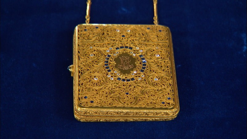Lady 39 s purse ca 1895 antiques roadshow pbs for Jewelry appraisal omaha ne