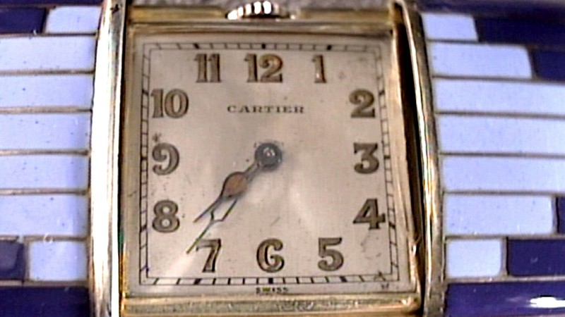 Clara Bow Anklet Cartier Watch Amp Note Antiques Roadshow