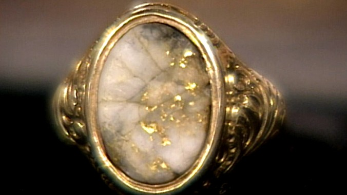 California Gold Quartz Ring Antiques Roadshow PBS