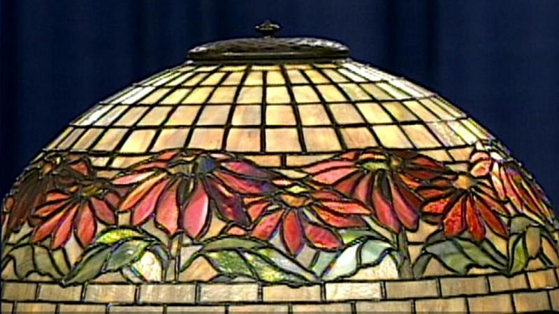 Tiffany studios lamp ca 1909