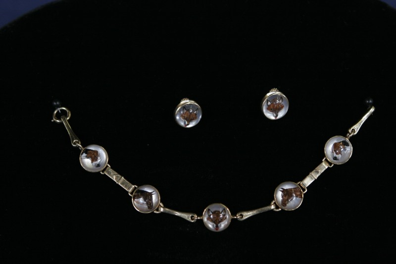 20th Century Sporting Motif Reverse Crystal Jewelry Antiques Roadshow Pbs