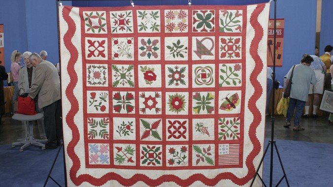 American Album Quilt Ca 1863 Antiques Roadshow Pbs