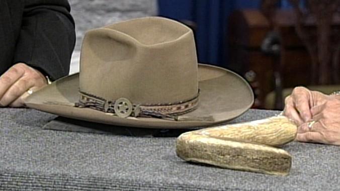15094e4ad9b121 Stetson Cowboy Hat, ca. 1870 | Antiques Roadshow | PBS