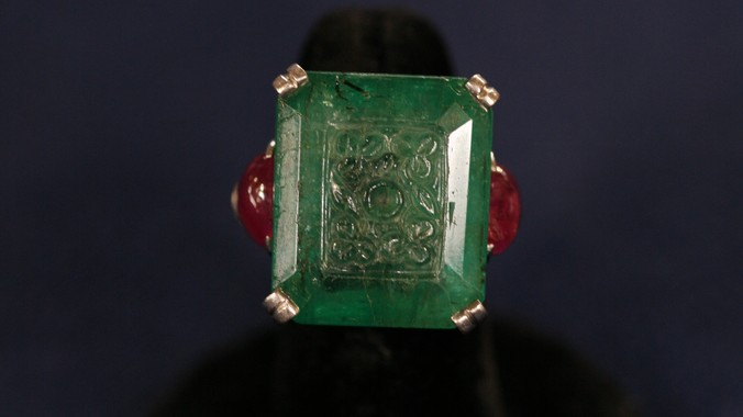 carved emerald ring ca 1925 antiques roadshow pbs
