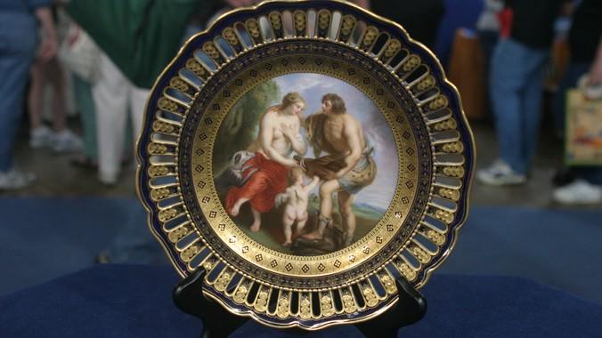 Meissen Plate ca. 1880 & Meissen Plate ca. 1880 | Antiques Roadshow | PBS