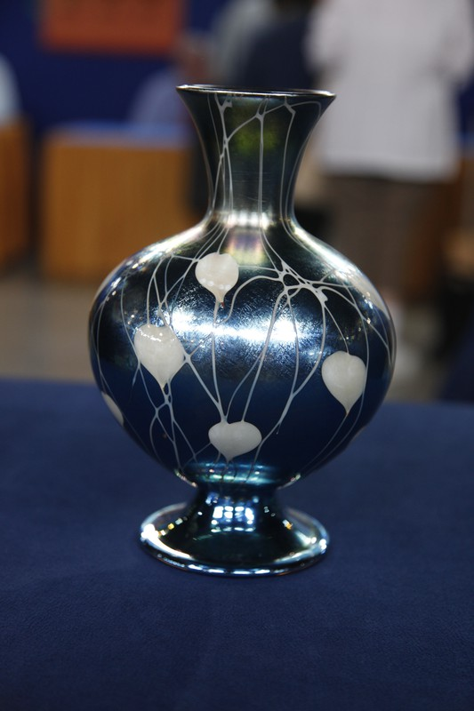 Durand Art Glass Vase, ca. 1928 | Antiques Roadshow | PBS