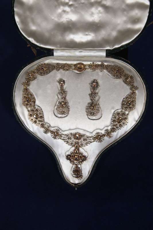 18th-Century Spanish Necklace & Earrings | Antiques ...
