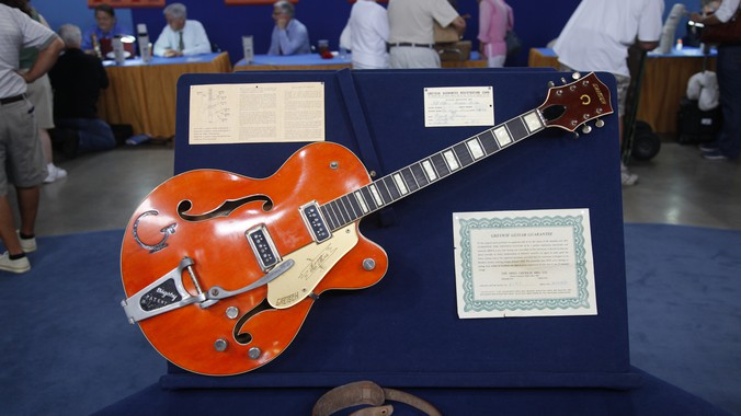 1956 Gretsch Chet Atkins Model 6120 Guitar With Case