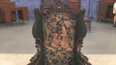 Karpen Rococo Revival Chair, ca. 1900 - Appraisals Antiques Roadshow PBS