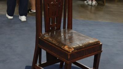 Fake George Elmslie Chair. Value: $500 Auction - Appraisals Antiques Roadshow PBS