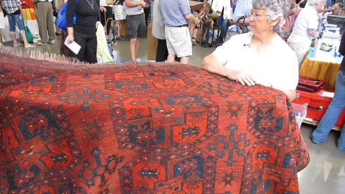 Ersari Rug Ca 1900 Antiques Roadshow Pbs