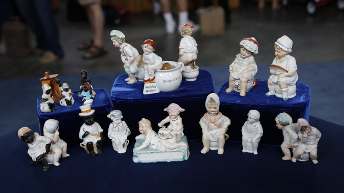 German Quot Potty Quot Babies Trinkets Ca 1900 Antiques