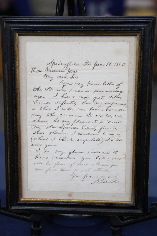 Santa Fe Ford >> 1860 Abraham Lincoln Signed Letter | Antiques Roadshow | PBS