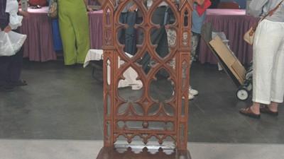Gothic Revival Hall Chair, ca. 1850 - Appraisals Antiques Roadshow PBS
