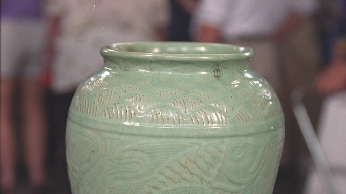 Shearwater Pottery Vase Ca 1945 Antiques Roadshow Pbs