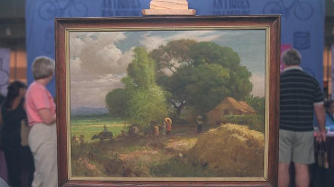 1945 Fernando Amorsolo Oil Painting Antiques Roadshow Pbs