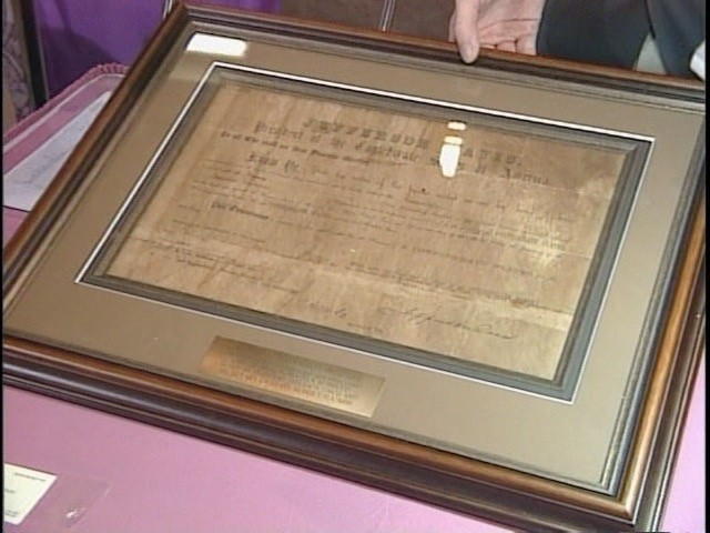 1861 Jefferson Davis Letter of Marque. Appraisals   Antiques Roadshow   PBS