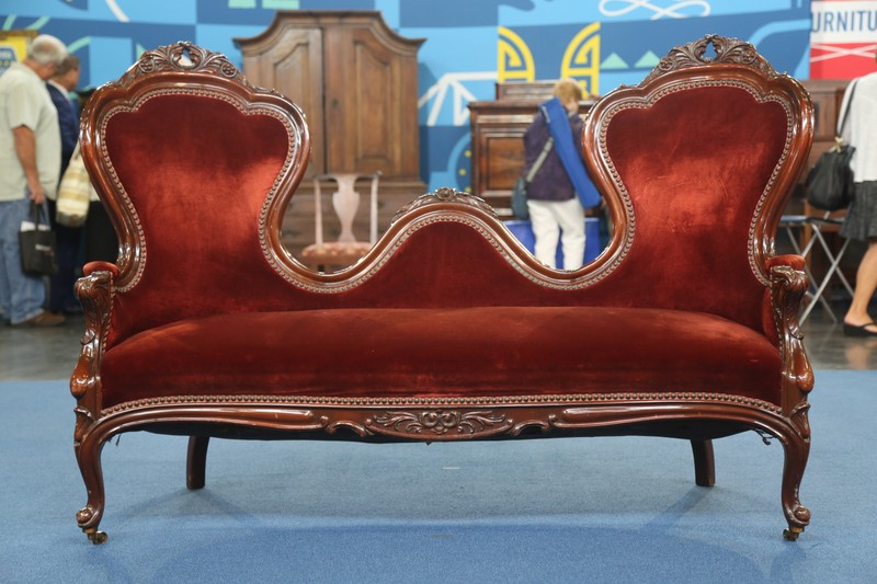 Vander Ley Bros. Rococo Revival-style Settee, ca. 1935 - Appraisals Antiques Roadshow PBS