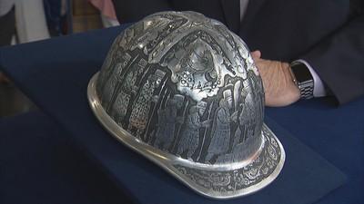 22df90c0f02 Presentation Aluminum Hard Hat