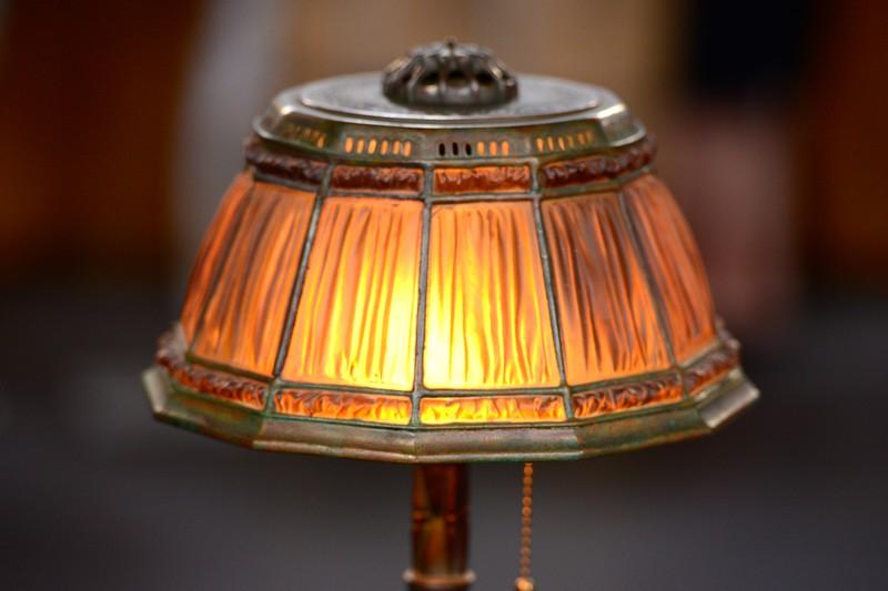 Tiffany studios desk lamp ca 1910