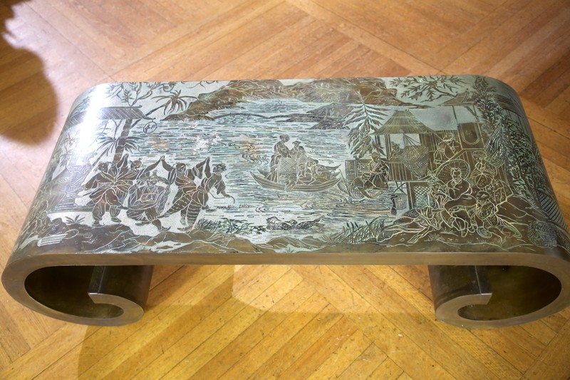 Philip Amp Kelvin Laverne Table Ca 1982 Antiques